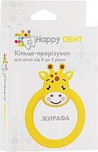 Духи, Парфюмерия, косметика Прорезыватель для зубов, жираф - Happy Dent