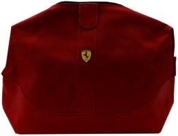 Духи, Парфюмерия, косметика Красная косметичка на молнии - Ferrari