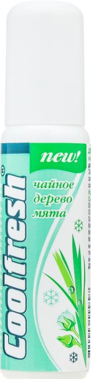 """Освежители полости рта """"Чайное дерево"""" с мятой - Ароматика """"Coolfresh"""""""