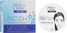 Духи, Парфюмерия, косметика Прозрачные коллагеновые патчи под глаза - Beauty Derm Collagen Hydrogel Patch
