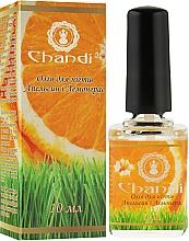 """Духи, Парфюмерия, косметика Масло для ногтей и кутикул """"Апельсин и лемонграс"""" - Chandi"""