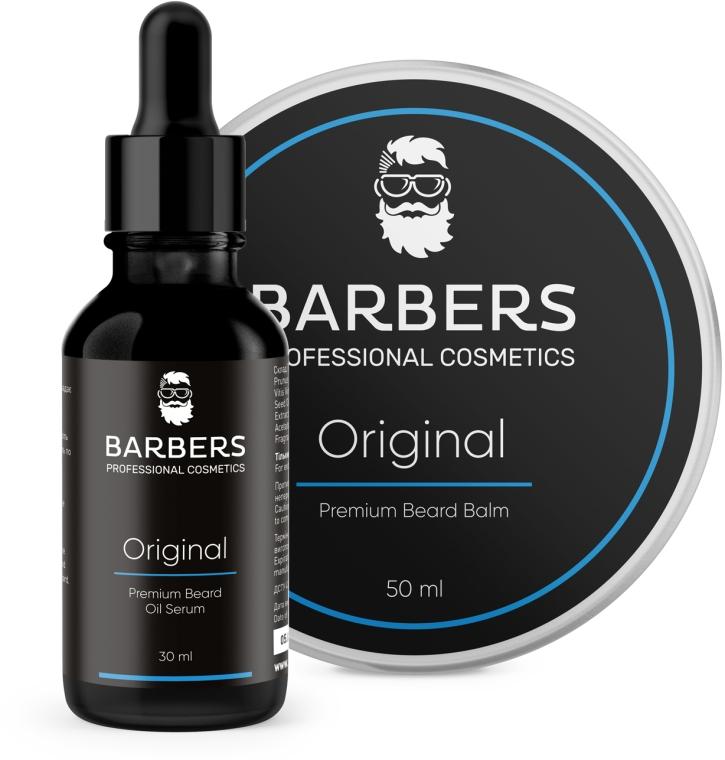 Набор - Barbers Original (beard/oil/30ml + beard/balm/50ml)