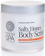 Духи, Парфюмерия, косметика Скраб для тела тонизирующий - Natura Siberica Fresh Spa Russkaja Bania Detox Salty Honey Body Scrub