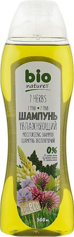 "Шампунь ""Увлажняющий.7 трав"" - Bio Naturell"