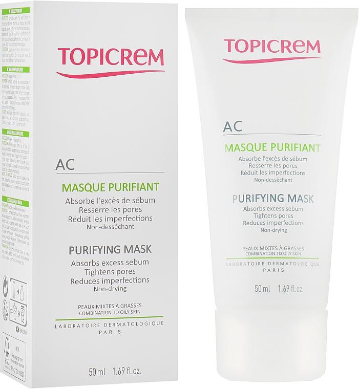 Очищающая маска для жирной и комбинированной кожи - Topicrem AC Purifying Mask