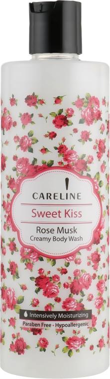 Крем-гель для душа с ароматом мускуса и розы - Careline Sweet Kiss Rose Musk Creamy Body Wash