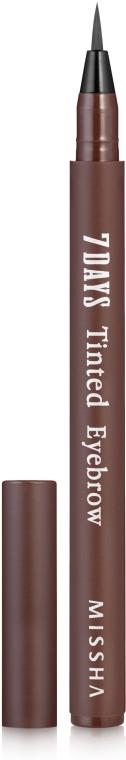 Гелевый тинт для бровей - Missha 7Days Tinted Eyebrow — фото N2