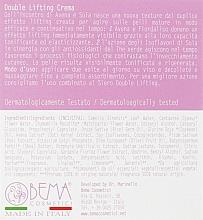 Крем для обличчя з подвійним ефектом ліфтингу - Bema Cosmetici BemaBioFace Double Lifting Cream — фото N3