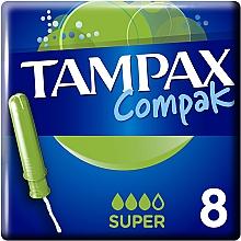 Парфумерія, косметика Тампони з аплікатором, 8 шт - Tampax Compak Super Single