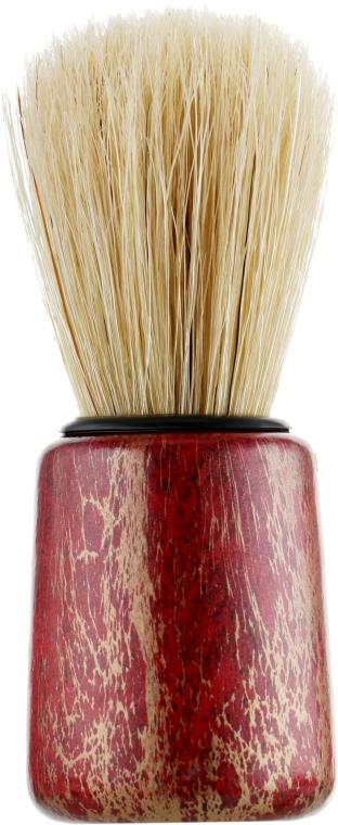 Кисть для бритья, красно-золотая - Inter-Vion