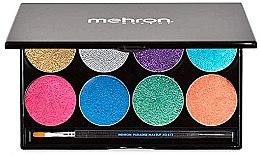 Духи, Парфюмерия, косметика Палитра сияющего аквагрима - Mehron Paradise Makeup AQ 8 Color Palette