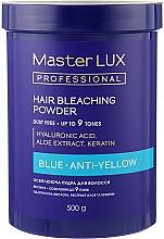 Духи, Парфюмерия, косметика Осветляющая пудра - Master LUX Professional Blue Hair Bleaching Powder