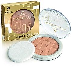 Духи, Парфюмерия, косметика Пудра для лица - Celia Velvet de Luxe Powder