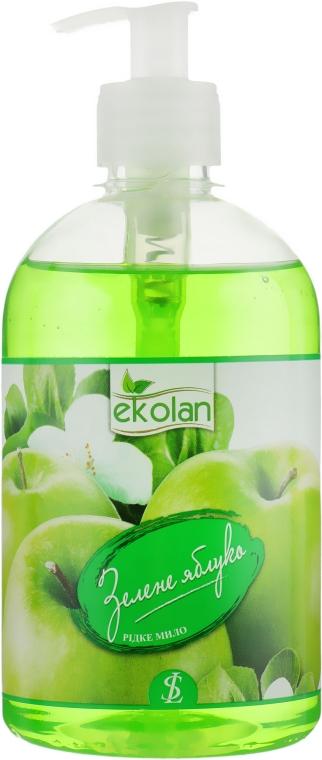 """Жидкое мыло """"Зеленое яблоко"""" с дозатором - EkoLan"""