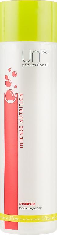 Шампунь для поврежденных волос - UNi.tec Professional Intense Nutrition Shampoo