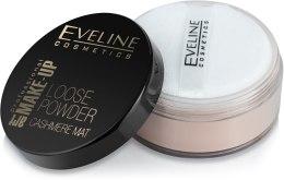 Матирующая рассыпчатая пудра - Eveline Cosmetics Loose Powder Cashmere Mat — фото N2