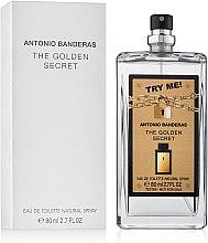 Antonio Banderas The Golden Secret - Туалетная вода (тестер без крышечки) — фото N3