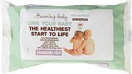 Духи, Парфюмерия, косметика Детские влажные салфетки без запаха - Beaming Baby Organic Baby Wipes