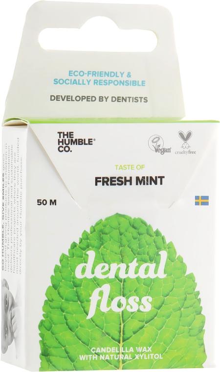 """Зубная нить-флосс """"Свежая мята"""" - The Humble Co. Dental Floss Fresh Mint"""