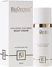 Духи, Парфюмерия, косметика Ночной крем для лица - BioDermic Hyaluronic Acid Night Cream