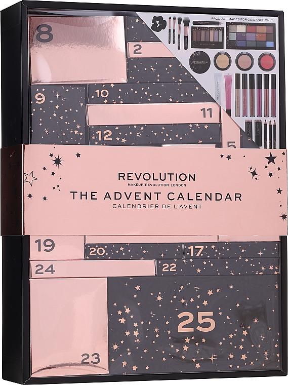 """Набор """"Адвент-календарь 2020"""" - Makeup Revolution Advent Calendar 2020"""