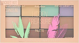 Парфумерія, косметика Коректор для обличчя - Ruby Rose Hidden Treasure