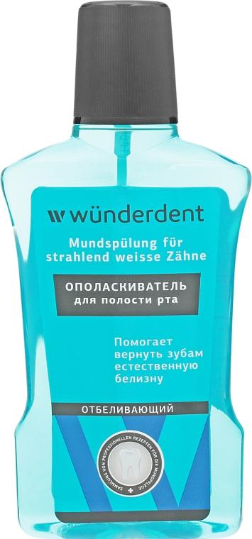 Ополаскиватель для полости рта отбеливающий - Wunderdent — фото N1