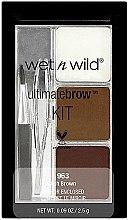 Духи, Парфюмерия, косметика Набор для бровей - Wet N Wild Ultimate Brow Kit