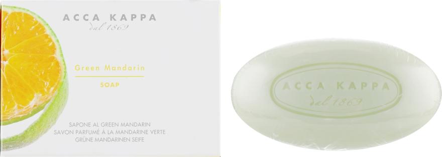 Туалетне мило - Acca Kappa Green Mandarin Toilet Soap — фото N1