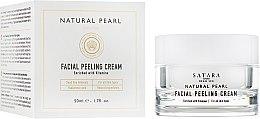 Духи, Парфюмерия, косметика Крем-пилинг для лица, на основе минералов Мертвого моря - Satara Natural Pearl Facial Peeling Cream