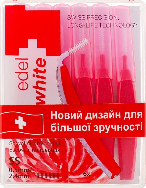 """Щётки """"Profi-Line"""" для межзубных промежутков SS - Edel+White Dental Space Brushes SS"""