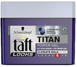 Духи, Парфюмерия, косметика Гель для волос - Taft Looks Titan Power Gel Ultimate Hold