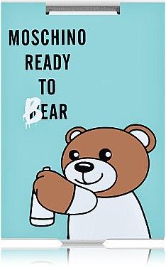 "Зеркало прямоугольное ""Moschino Ready To Bear"" бирюзовое - Rapira — фото N1"