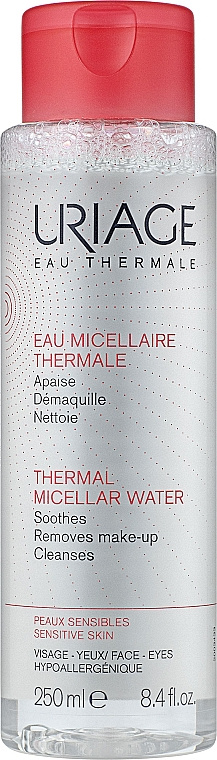 Мицеллярная вода для чувствительной кожи - Uriage Eau Micellaire Thermale