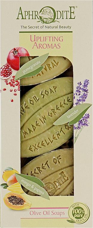 Подарочный набор - Aphrodite Uplifitng Aromas (soap/3x100g)