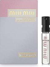 Духи, Парфюмерия, косметика Miu Miu Fleur D'Argent - Парфюмированная вода (пробник)