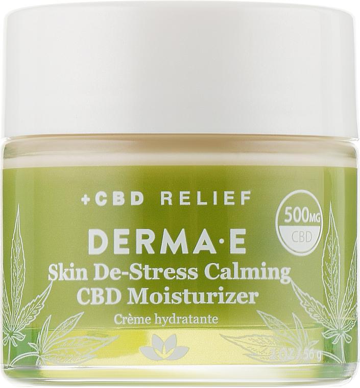 Увлажняющий крем для чувствительной кожи - Derma E Skin De-Stress Calming CBD Moisturizer