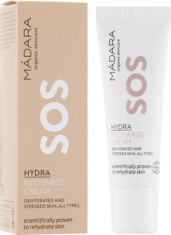 Восстанавливающий крем для лица - Madara Cosmetics SOS Hydra Recharge Cream