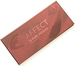 Духи, Парфюмерия, косметика Палетка прессованных теней для век - Affect Cosmetics Pure Passion Eyeshadow Palette