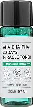 Духи, Парфюмерия, косметика Тоник для лица - Some By Mi AHA. BHA. PHA 30Days Miracle Toner (мини)