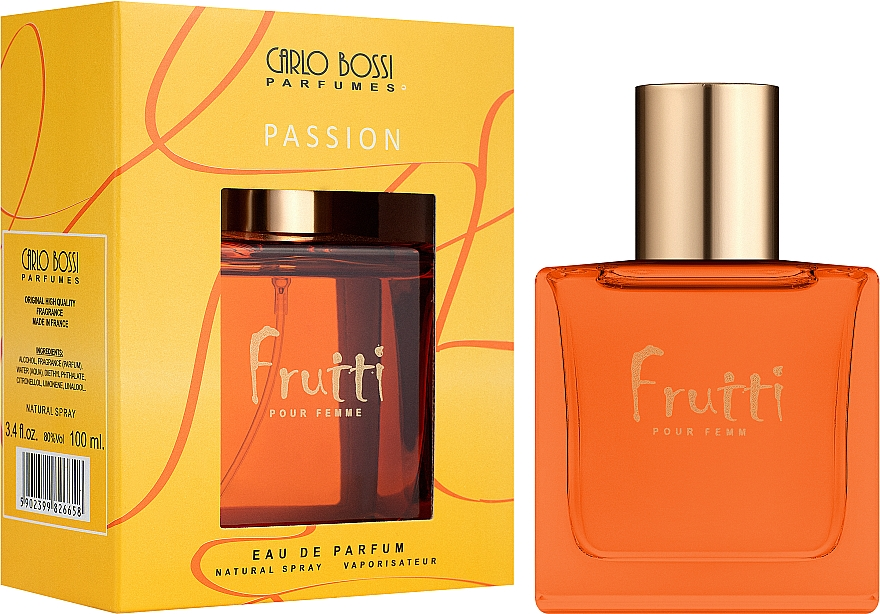 Carlo Bossi Fruiti Passion - Парфюмированная вода