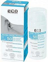 Духи, Парфюмерия, косметика Солнцезащитный лосьон без запаха - Eco Cosmetics Sun Lotion SPF 50