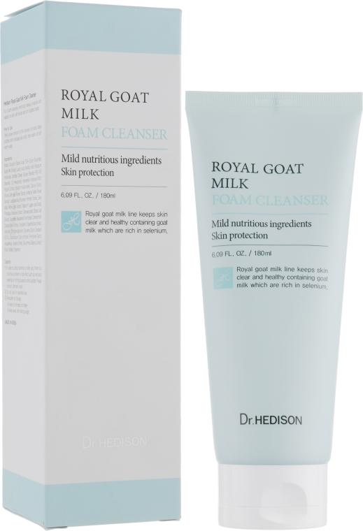 Пенка с экстрактом козьего молока - Dr.Hedison Royal Goat Milk Foam Cleanser
