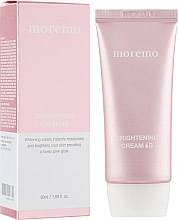 Духи, Парфюмерия, косметика Ежедневный осветляющий крем для лица - Moremo Brightening Cream B