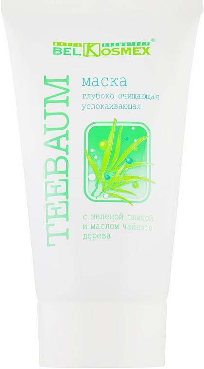 Маска глубоко очищающая, успокаивающая - Belkosmex Teebaum Face Mask