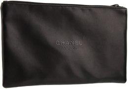 Духи, Парфюмерия, косметика Косметичка на молнии черная, 28х17см - Chanel Parfums