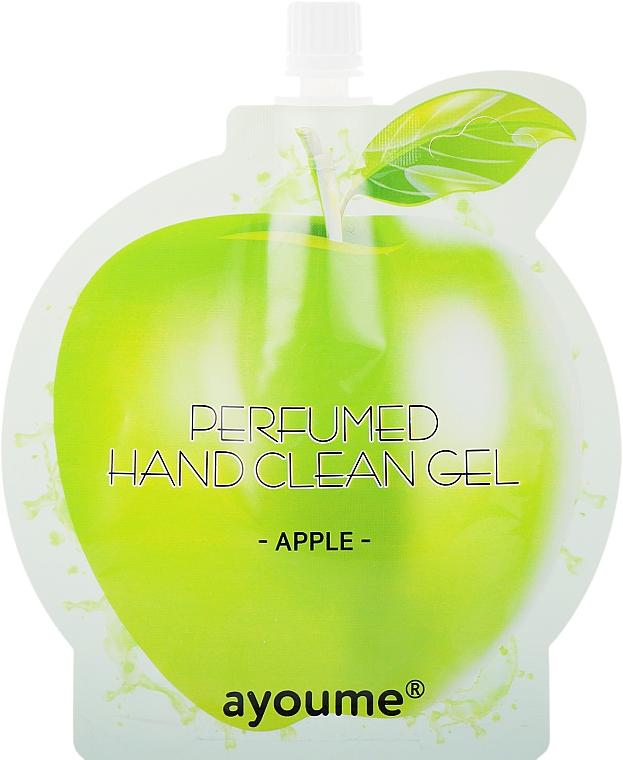"Крем-антисептик для рук ""Яблоко"" - Ayoume Perfumed Hand Clean Gel Apple"