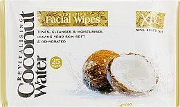 Духи, Парфюмерия, косметика Очищающие влажные салфетки для лица - Xpel Marketing Ltd Coconut Water Facial Wipes