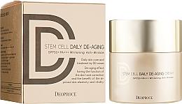 Духи, Парфюмерия, косметика Крем DD солнцезащитный антивозрастной - Deoproce Stem Cell Daily-aging Cream