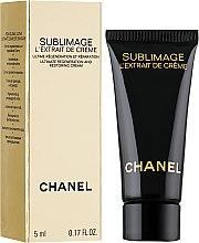 Духи, Парфюмерия, косметика РАСПРОДАЖА Крем-экстракт для регенерации и восстановления кожи - Chanel Sublimage L`Extrait De Creme (пробник) *